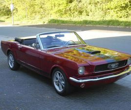 FORD FORD MUSTANG CONVERTIBLE 289 V8
