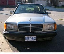 1993 MERCEDES BENZ 190E, 31K KM, VINTAGE CAR | CLASSIC CARS | CITY OF TORONTO | KIJIJI