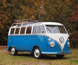 VOLKSWAGEN T1 SAMBA 21 WINDOW 1966 - UK | GIELDA KLASYKÓW