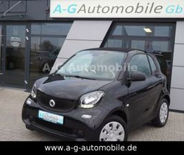 SMART FORTWO COUPE-COOL & AUDIO-PAKET-TEMPOMAT-LED