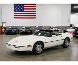 FOR SALE: 1986 CHEVROLET CORVETTE IN KENTWOOD, MICHIGAN
