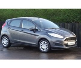 USED 2016 FORD FIESTA STYLE TDCI HATCHBACK 56,000 MILES IN GREY FOR SALE | CARSITE