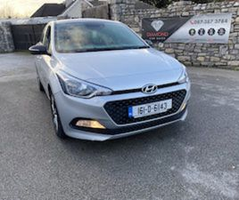 HYUNDAI I20 1.2 PETROL 2016 FOR SALE IN DUBLIN FOR €11500 ON DONEDEAL