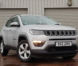 USED 2019 (19) JEEP COMPASS 1.4 MULTIAIR 140 LONGITUDE 5DR [2WD] IN DUNDEE