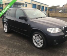 USED 2012 BMW X5 3.0 XDRIVE30D M SPORT 5D 241 BHP 7 SEATER ESTATE 82,200 MILES IN BLACK FO