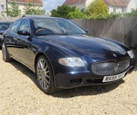 USED 2006 MASERATI QUATTROPORTE V8 EXECUTIVE GT SALOON 72,000 MILES IN BLUE FOR SALE | CAR