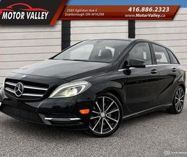 USED 2013 MERCEDES-BENZ B-CLASS B250 SPORTS TOURER SUNROOF - NO ACCIDENT!