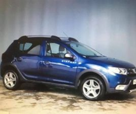 USED 2017 DACIA SANDERO STEPWAY LAUREATE HATCHBACK 70,000 MILES IN BLUE FOR SALE | CARSITE