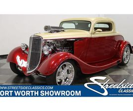 FOR SALE: 1933 FORD 3-WINDOW COUPE IN FT WORTH, TEXAS