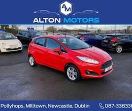 FORD FIESTA ZETEC 1.25 82PS FOR SALE IN DUBLIN FOR €9250 ON DONEDEAL