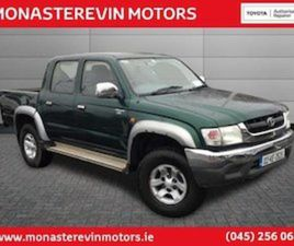 TOYOTA HILUX 2.5 D-4D - 2000 SCRAPPAGE FOR SALE IN KILDARE FOR €4888 ON DONEDEAL