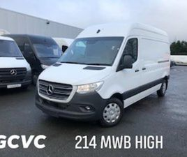 MERCEDES-BENZ SPRINTER 214 HIGH ROOF FOR SALE IN DUBLIN FOR €31950 ON DONEDEAL