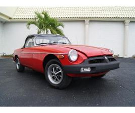 FOR SALE: 1979 MG MGB IN MIAMI, FLORIDA
