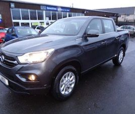 SSANGYONG MUSSO. 4 WHEEL DRIVE AUTOMATIC CREW CAB FOR SALE IN LAOIS FOR €34750 ON DONEDEAL