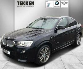 BMW X4 XDRIVE30D M SPORT AHK/HUD/ACC