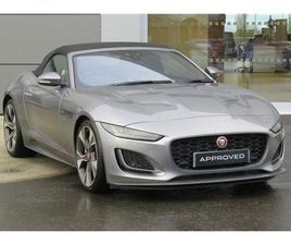 JAGUAR F-TYPE 2.0 P300 FIRST EDITION 2DR AUTO CONVERTIBLE