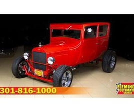 FOR SALE: 1927 FORD TUDOR IN ROCKVILLE, MARYLAND