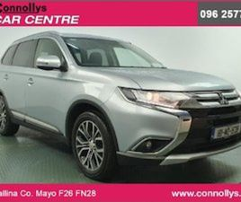 MITSUBISHI OUTLANDER 2WD 2.3D 5 SEATER - FULL FRA FOR SALE IN MAYO FOR €19995 ON DONEDEAL