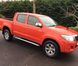 2012 TOYOTA HILUX FOR SALE IN LOUTH FOR €14250 ON DONEDEAL