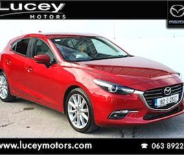 MAZDA 3 2.2D GT // LEATHER SEATS // FOR SALE IN CORK FOR €18925 ON DONEDEAL