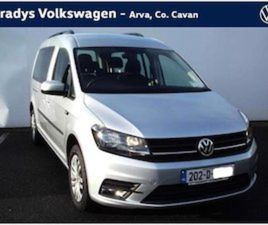 VOLKSWAGEN CADDY MAXI LIFE TRENDLINE 2.0 TDI 102B FOR SALE IN CAVAN FOR €35000 ON DONEDEAL