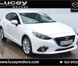 MAZDA 3 GT BLACK LEATHER FOR SALE IN CORK FOR €16425 ON DONEDEAL