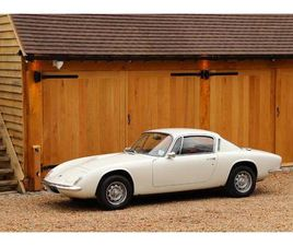 LOTUS ELAN+2, 1969. CIRRUS WHITE. VERY ORIGINAL EXAMPLE AND ONE WE SOLD 8 YEARS AGO. VERY