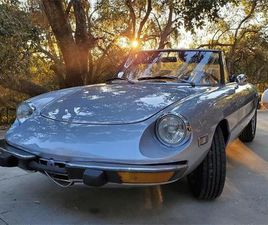 FOR SALE: 1973 ALFA ROMEO 2000 SPIDER VELOCE IN TEMPLETON, CALIFORNIA