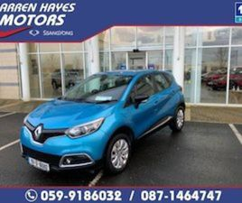RENAULT CAPTUR LIFE 1.5 DCI 90 4DR FOR SALE IN CARLOW FOR €10945 ON DONEDEAL