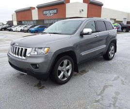 USED 2012 JEEP GRAND CHEROKEE OVERLAND 4DR 4WD SPORT UTILITY