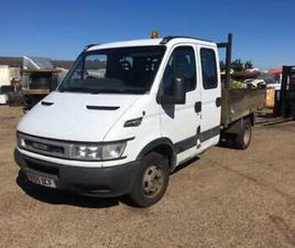 2005 IVECO 35C12 CREW CAB TIPPER, BREAKING ONLY, ALL PARTS AVAILABLE