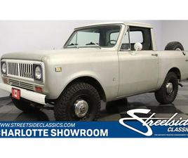FOR SALE: 1975 INTERNATIONAL SCOUT IN CONCORD, NORTH CAROLINA