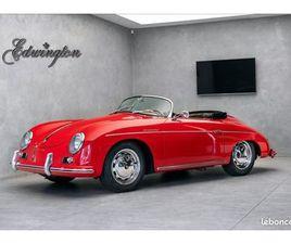PORSCHE 356 A 1600 SPEEDSTER - ORIGINALE