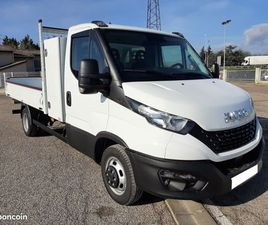 IVECO DAILY CHASSIS CABINE 35C18 EMP 3750 BENNE...