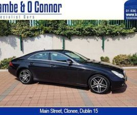 MERCEDES-BENZ CLS-CLASS CLS 320 CDI OBSIDIAN BLAC FOR SALE IN DUBLIN FOR €5950 ON DONEDEAL
