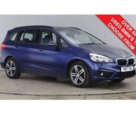 USED 2017 BMW 2 SERIES 2.0 218D SPORT GRAN TOURER 5D 148 BHP MPV 18,760 MILES IN BLUE FOR