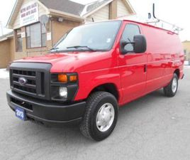 USED 2013 FORD E-250 CARGO 5.4L LOADED RACK DIVIDER SHELVING 129,000KM