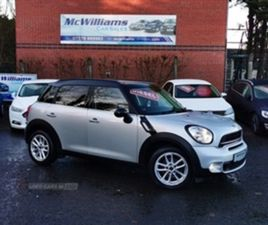 USED 2014 MINI COUNTRYMAN SD HATCHBACK 50,132 MILES IN SILVER FOR SALE | CARSITE
