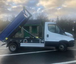 IVECO DAILY 70-170 3T HOOKLOADER FOR SALE IN DOWN FOR €1 ON DONEDEAL