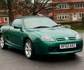 2002 MG / MGF TF 1.8 135. ONE OWNER FROM NEW. 29,000 MILES. F/S/H