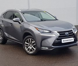 USED 2015 (65) LEXUS NX 300H 2.5 LUXURY 5DR CVT IN INVERNESS