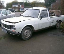 PEUGEOT 504 2.3D GL PICK UP SPARES OR CHALLENGING RESTORATION
