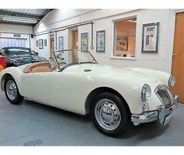 1956 MGA 1500 ROADSTER - OLD ENGLISH WHITE - ORIGINAL UK CAR