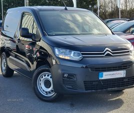 >MAR 2020 CITROEN BERLINGO 1.5 BLUEHDI 1000KG WORKER 100PS