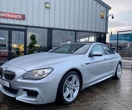 BMW 6 SERIES 3.0 640D M SPORT GRAN COUPE 4D 309 BHP SUNROOF!