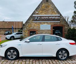 KIA OPTIMA 2.0 GDI 205CH HYBRIDE RECHARGEABLE ULTIMATE BVA6 37400KMS 08/17
