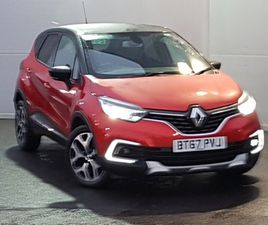 USED 2017 (67) RENAULT CAPTUR 1.2 TCE 120 SIGNATURE X NAV 5DR EDC IN LINWOOD