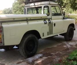 1977 LAND ROVER SERIES 3 TRUCK CAB