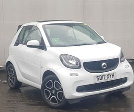 USED 2017 (17) SMART FORTWO CABRIO 0.9 TURBO PRIME 2DR AUTO IN RUTHERGLEN