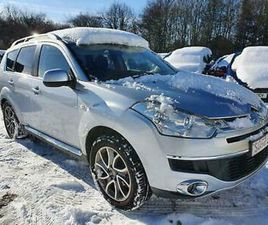 2008 CITROEN C-CROSSER 2.2 HDI EXCLUSIVE 5DR ESTATE DIESEL MANUAL